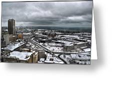 Queen City Winter Wonderland After The Storm Series 0011 Greeting Card