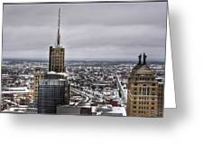 Queen City Winter Wonderland After The Storm Series 0012 Greeting Card