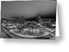 Queen City Winter Wonderland After The Storm Series 0018a Greeting Card