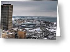 Queen City Winter Wonderland After The Storm Series 0025 Greeting Card