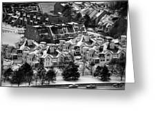 Queen City Winter Wonderland After The Storm Series 0028a Greeting Card