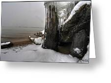 Queen City Winter Wonderland After The Storm Series 0037 Greeting Card