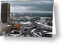 Queen City Winter Wonderland After The Storm Series 006 Greeting Card