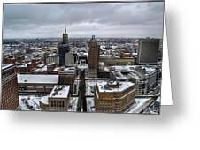 Queen City Winter Wonderland After The Storm Series 007 Greeting Card