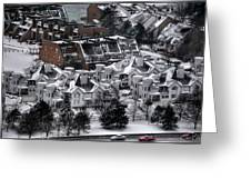 Queen City Winter Wonderland After The Storm Series0028 Greeting Card