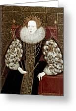 Queen Elizabeth I (1533-1603) Greeting Card