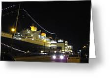 Queen Mary - 12127 Greeting Card by DC Photographer