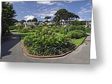 Queen Mary Gardens - Falmouth Greeting Card