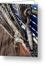 Queen Mary Ship Turnbuckle Greeting Card