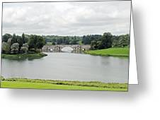 Queen Pool Blenheim Greeting Card