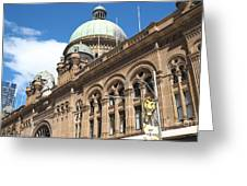 Queen Victoria Building Sydney Greeting Card