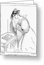 Queen Victoria Sketch Greeting Card