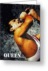 Queen We Will Rock You Greeting Card