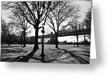 Queens Bridge Park  Greeting Card