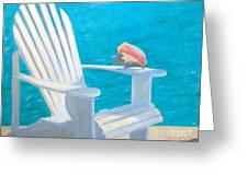 Queens Chair Greeting Card