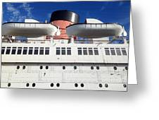 Queen's Life Boats Greeting Card