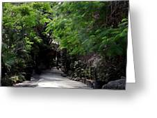 Queens Staircase Nassau Bahamas Greeting Card by Keith Stokes