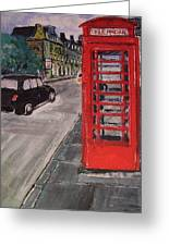 Queens Street By Findlay Close Greeting Card