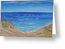 Quick Seascape 1 Greeting Card