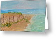 Quick Seascape 2 Greeting Card