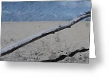 Quiet Beach Greeting Card