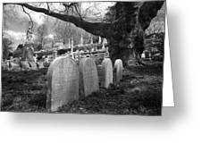 Quiet Cemetery Greeting Card