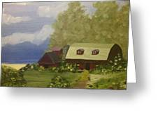 Quiet Farm Greeting Card