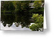Quiet Lake In The Berkshires Greeting Card
