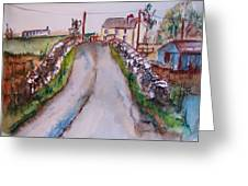 Quiet Man Bridge Greeting Card