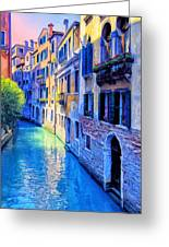 Quiet Morning In Venice Greeting Card