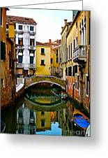 Quiet Venice Morning Greeting Card
