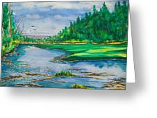 Quiet View Greeting Card
