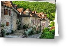 Quiet Village Life Greeting Card