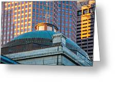 Quincy Market Dome Greeting Card