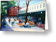 Quincy Market Greeting Card