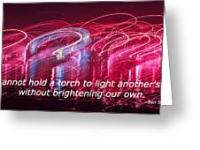 Quote By Ben Sweetland Greeting Card