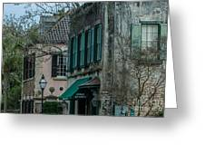 Quuen Street In Charleston Sc Greeting Card