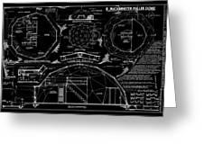 R. Buckminster Fuller Geodesic Dome Home Greeting Card