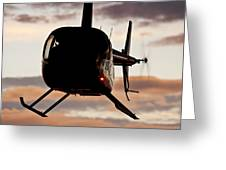 R44 At Sunset Greeting Card