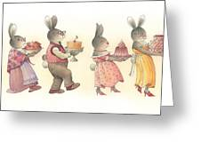 Rabbit Marcus The Great 11 Greeting Card