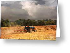 Race Against The Storm Greeting Card