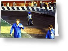 Race Over Greeting Card