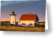 Race Point Sunset Greeting Card
