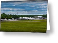 Race Week 2014 Pocono Airport  Greeting Card