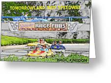 Racing Dreams Greeting Card