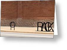 Rack Up In Okc Greeting Card