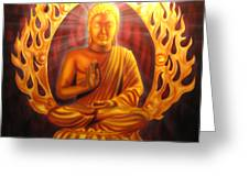 Radiant Buddha  Greeting Card