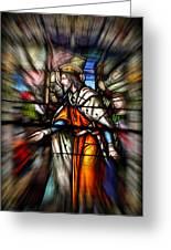 Radiant Jesus Greeting Card