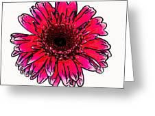 Radiant Sketch Greeting Card