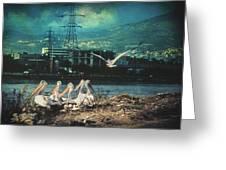 Radioactive Days Greeting Card by Taylan Apukovska